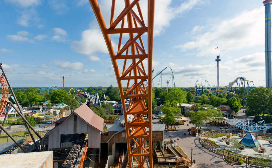 Copperhead Strike at Carowinds for Mack Rides - Ride and